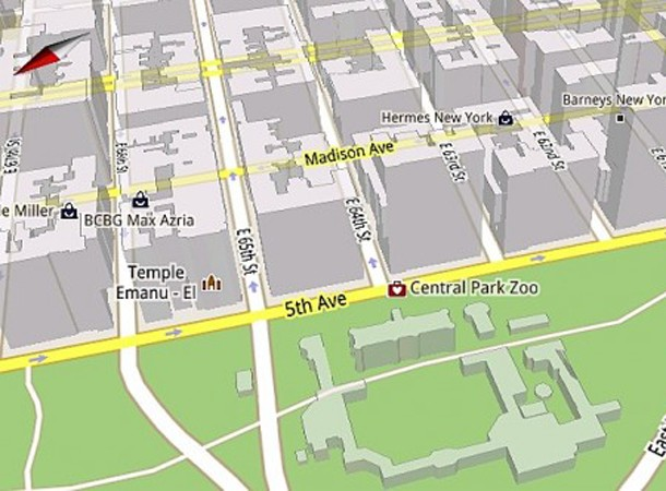 Юбилей Карты Google